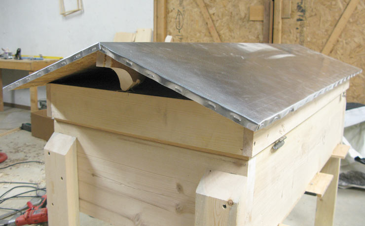 Gable Roof Hive Top Free Plans Natural Beekeeping