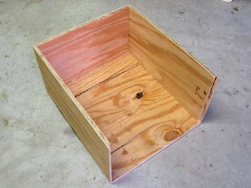 how to build a honey bee hive box