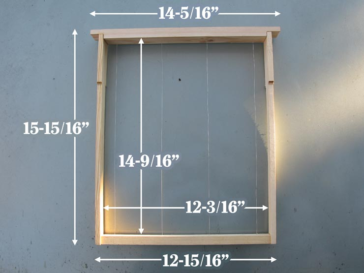 Incredible Layens Frame Plans Horizontal Hives Natural Beekeeping Wiring Cloud Hisonuggs Outletorg