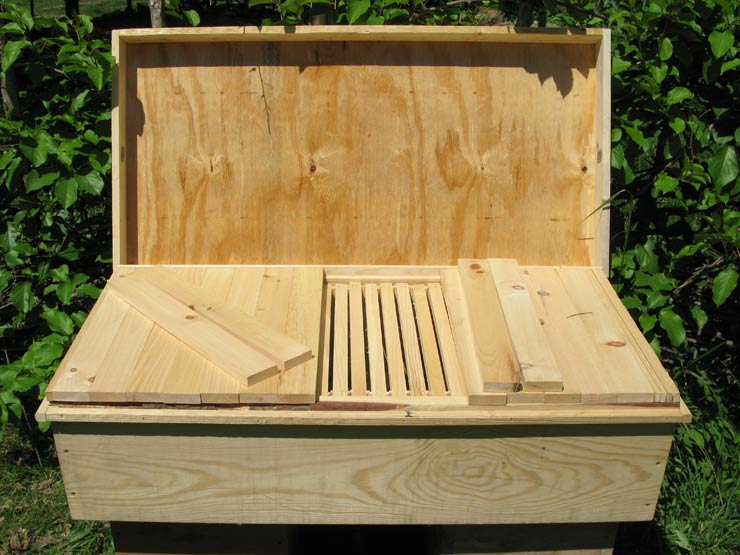 Ventilated Top Long Langstroth Hive Free Plans