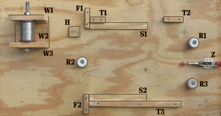 Frame Wiring Jig | Free Plans | Layens Horizontal Hives on